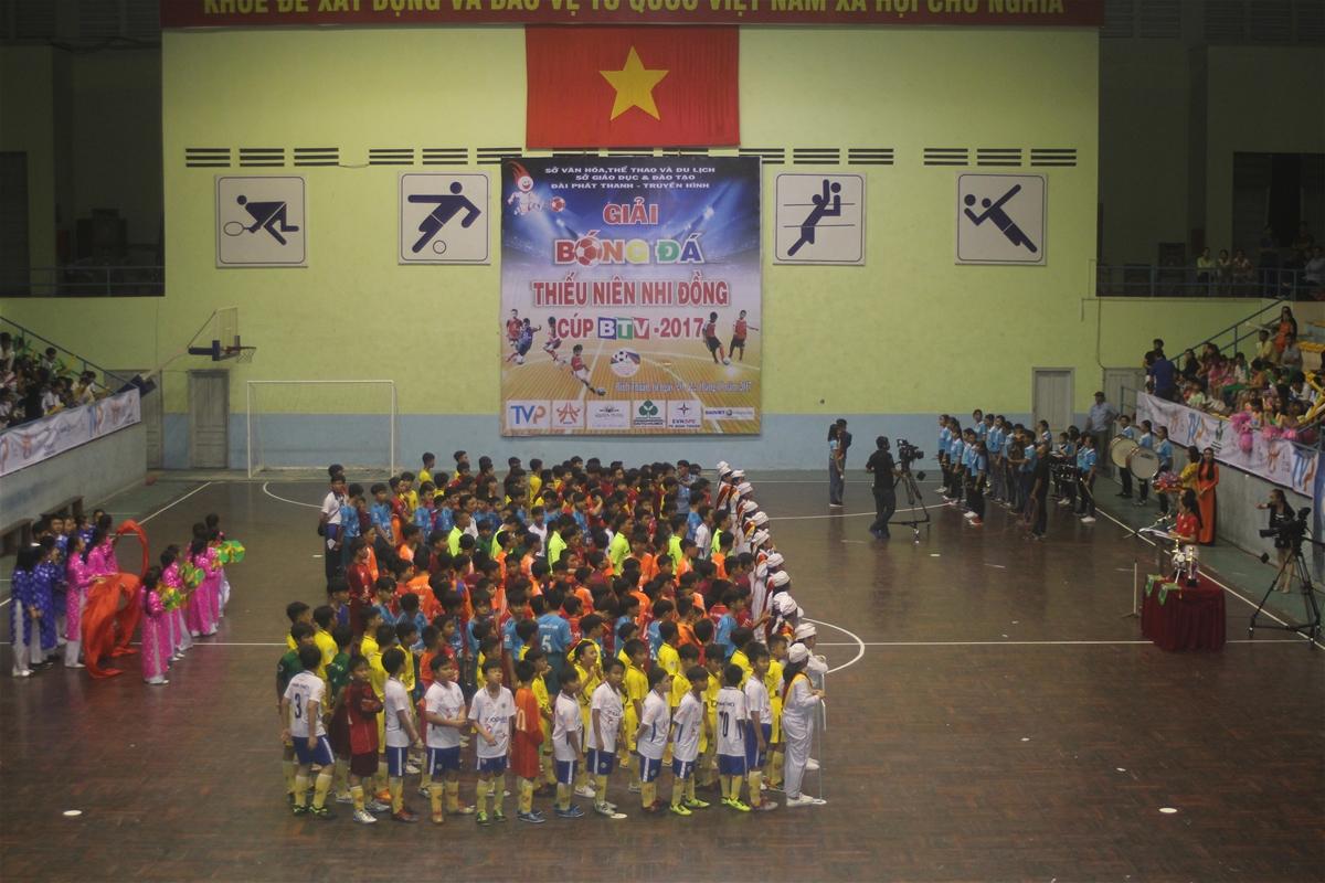 Lịch thi đấu Giải Bóng đá Thiếu niên và Nhi đồng tỉnh Bình Thuận lần thứ II – Cúp BTV 2018